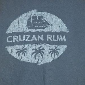 Cruzan Rum Blue T-shirt